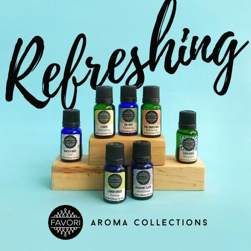 Refreshing Aroma Oils