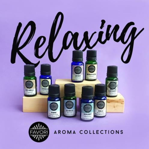 Relaxing Aroma Oils